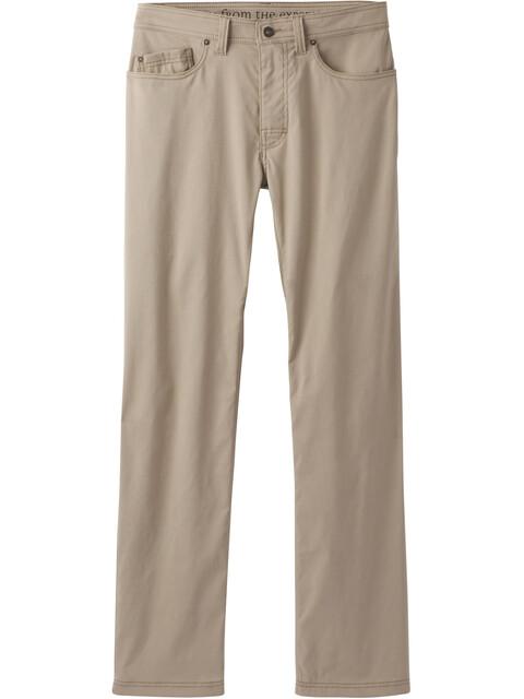 "Prana M's Brion Pants 32"" Inseam Dark Khaki"